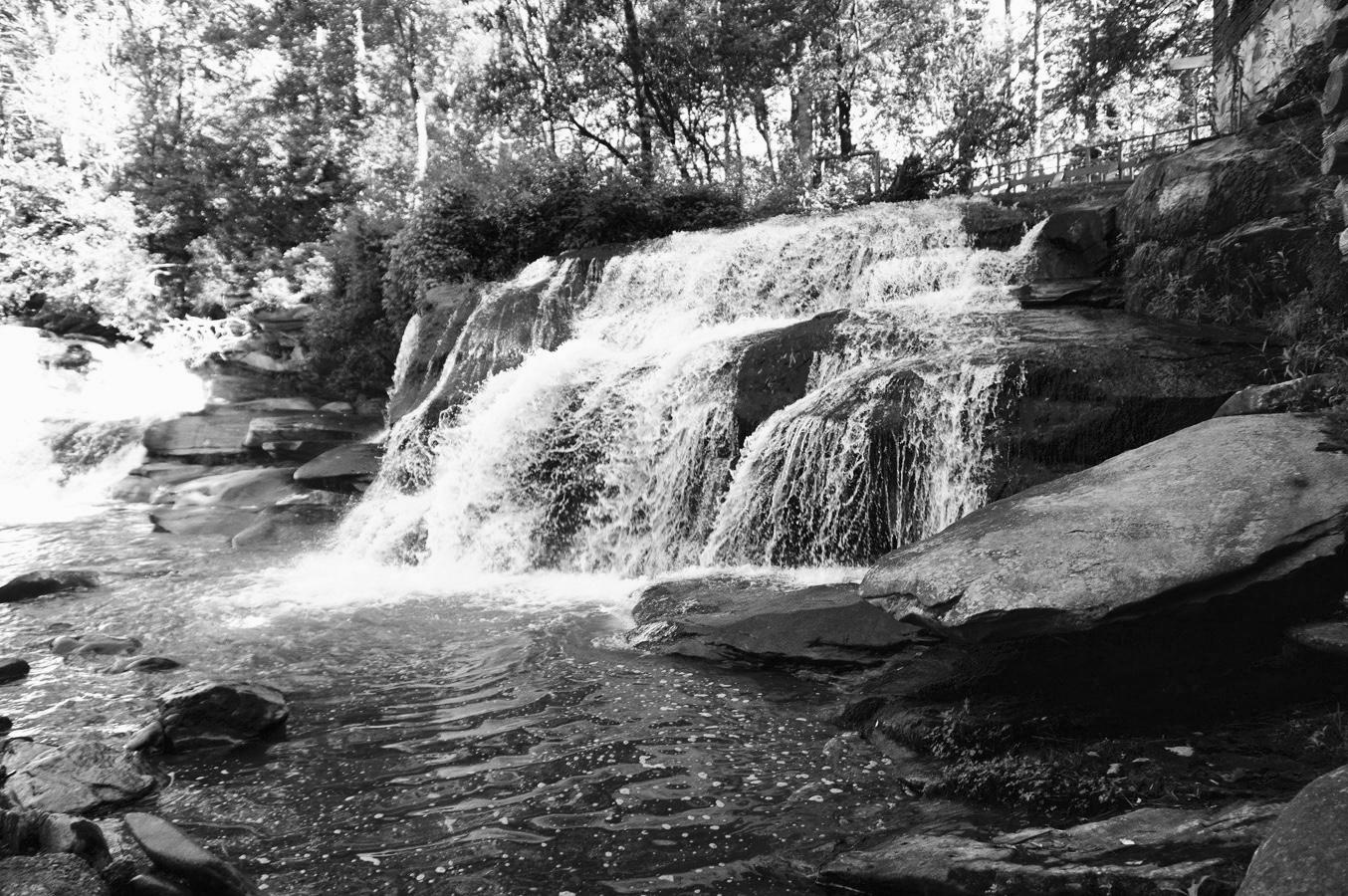 Mill Shoals Falls,  Brevard, NC